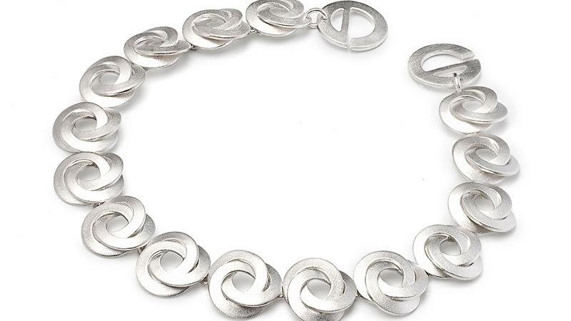 SS Woven Bracelet