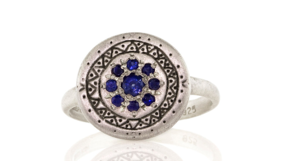 Sapphire Memories Ring