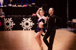 At the Michigan Dance Challange