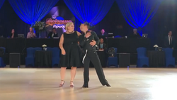 Start of the swing/foxtrot routine
