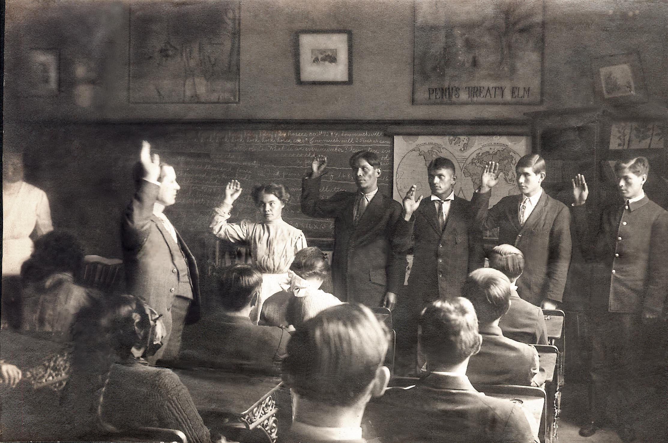 Classroom - Carlisle Indian Shool