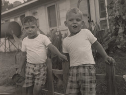 Mark Fiddler Childhood Photo