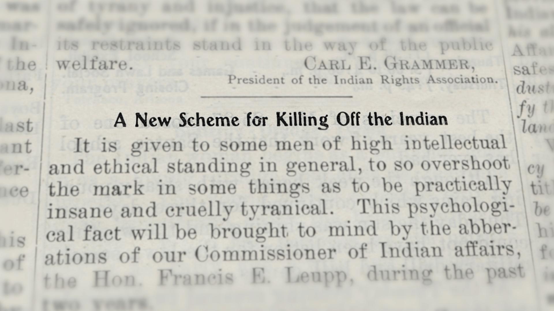 Blood Memory_Killing Off Indians