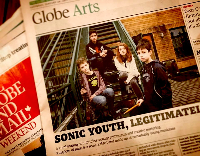 Article in The Globe and Mail