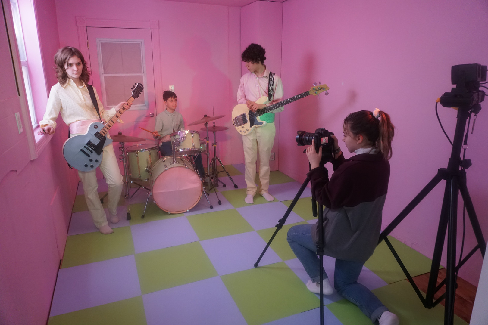 "Behind the scenes of ""Goodbye"" music video"