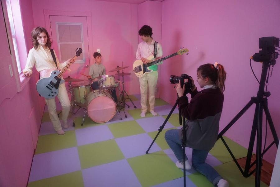 "Behind the scenes of ""Goodbye"" music video"