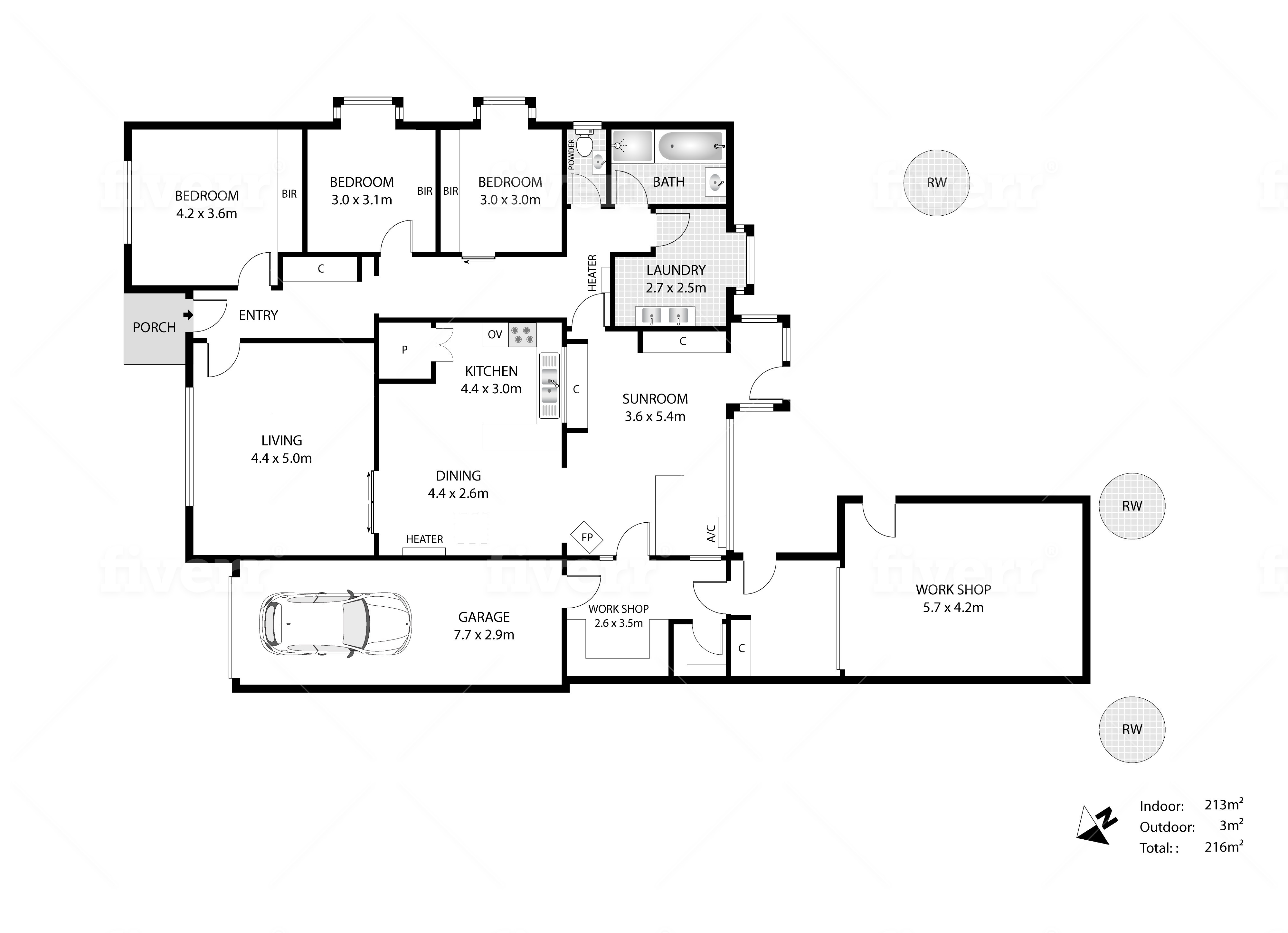 Branded Floor Plans