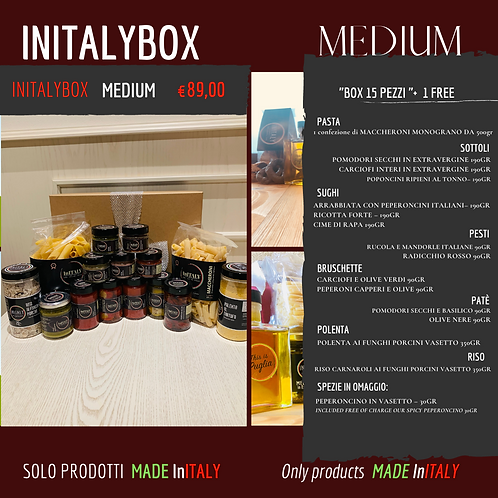 "BOX INITALY ""MEDIUM"""