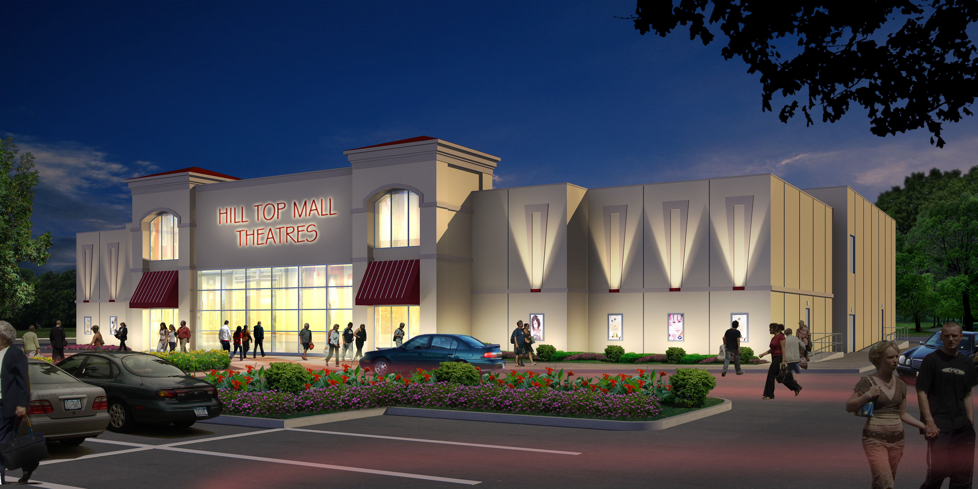 KEARNEY THEATRE CONCEPTUAL DRAWING