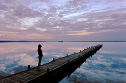morning light jetty-2 61.5x 41.jpg