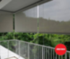 It is always a good investment to put up outdoor manual roller blinds at your balcony so that you can make full use of the space. Robust against the weather in Singapore, the price of our outdoor shade is as low as S$8.00 per square foot with complete accessories.