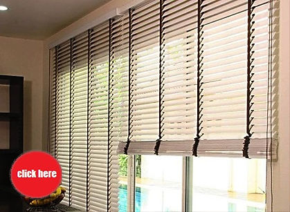 Our 50mm timber blinds at S$9.00 per square foot calculation will excite you and your room. Armoured with the German easy-lift system, you can operate our wood Venetian shades effortlessly.