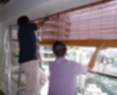 Unlike contemporary outdoor roller blinds, installing the bamboo blinds in the balcony is one of the economic window shades for outdoor that you may consider. Apart from cost-effective, these window blinds are eco-friendly, and they always highly recommended by architects and designers.