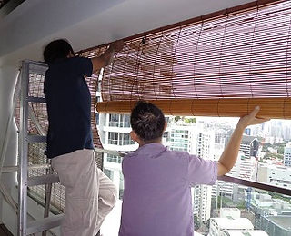 Bamboo Chick Blinds In Singapore