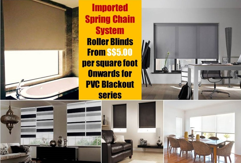 If you have got tired with your old fashion fabric curtains which require washing maintenance and intend to replace to something easy to take care of, then you should go for roller blinds in Singapore. Besides cost-effectiveness, roller blinds are the most tidy-looking and the most popular option to window coverings for home or office.