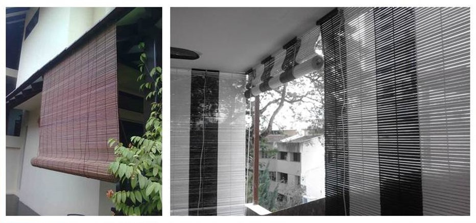 In Singapore, bamboo blinds have a beautiful classic, oriental, tropical look and feel but they are the torch of exoticness to any home. As far as reliability is concerned, bamboo is one of the most durable raw materials to use in furniture making. In fact, they can be custom-made and exhibit with different sprayed colors like black and white.