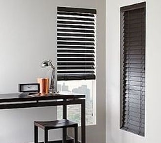 The beauty of timber is it never goes out of fashion, and they have more than 50 colors to choose from our sample. What is the cost price of these timeless shades? We give an example, the small wooden blinds in walnut color will cost $170 each in the study room.