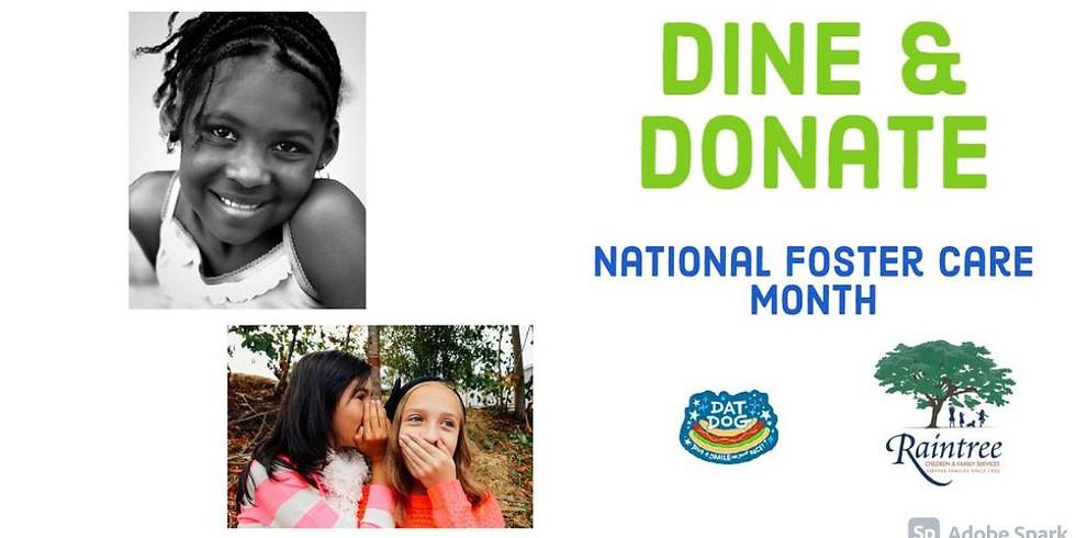 NEW DATE: Dine & Donate at Dat Dog - Magazine Street