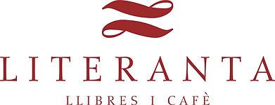 Logotip Literanta ( silueta y nombre) Ro