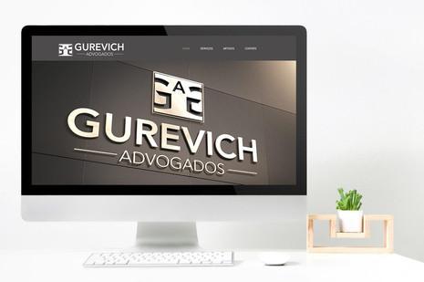 GUREVICH ADVODADOS   IDENTIDADE VISUAL E WEBSITE