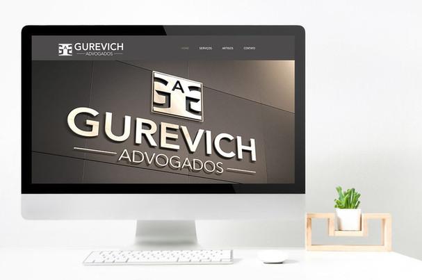 GUREVICH ADVODADOS | IDENTIDADE VISUAL E WEBSITE