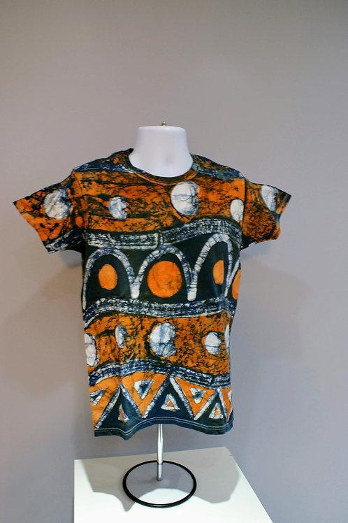 Goree - African Batik Print T-Shirt #007