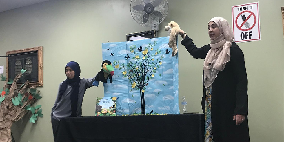 Story-time Puppet Show