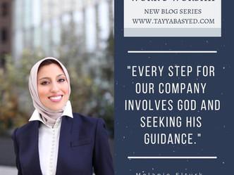 Work & Worship: Melanie Elturk, CEO Haute Hijab