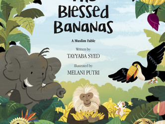 The Blessed Bananas Wins Children's Book Award