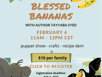 The Blessed Bananas Virtual Puppet Show in URDU!