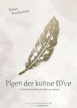 Stine Lundgaard Solo Dukkeforestilling Pigen der kunne flyve