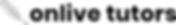 Online Tutoring-onlivetutors Logo