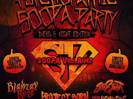 Costume Party with Psychopathic Records and The Soopa Villainz?!
