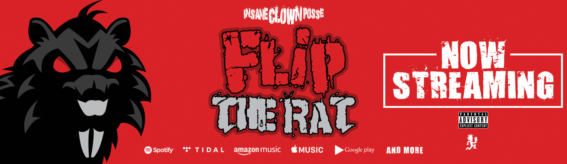 Flip The Rat Streaming Now!