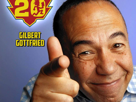 Gilbert Gottfried returns to the Gathering!