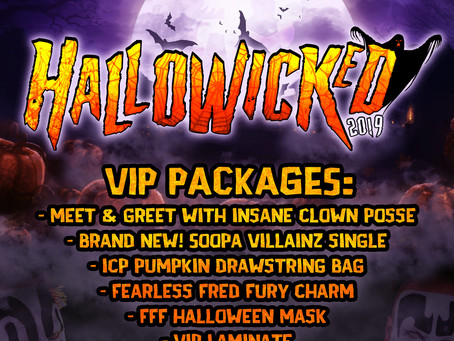 Hallowicked VIP Packages