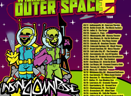 WICKED CLOWNS FROM OUTER SPACE 2 TOUR OFFICIALLY POSTPONED!