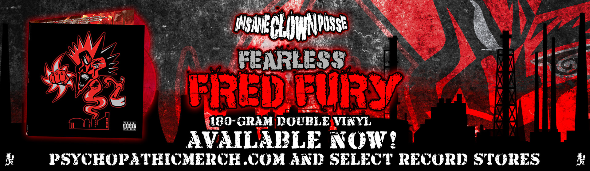 Fearless Fred Fury Available Now!