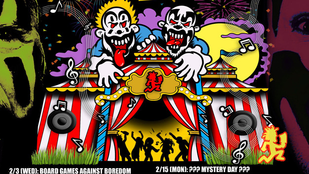 ICP'S JUGGALO WEEKEND MONTH LONG, LIVE STREAM EXTRAVAGANZA!!!