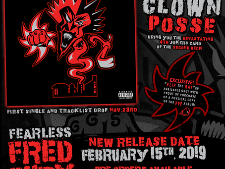 New Release Date For Fearless Fred Fury!!!