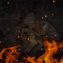 Psychopathic Fire Wallpaper by Str8jaket