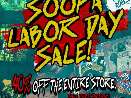 Soopa Labor Day Sale!