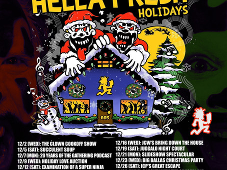 ICP'S HELLA FRESH HOLIDAYS – STREAMING ALL DECEMBER LONG