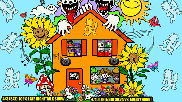 ICP'S SCRUB TIME NETWORK Presents: APRIL'S STREAMING LEAVES MUGS BEAMING!