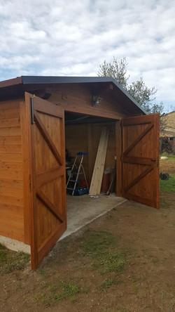 Garage 8 x 4 m