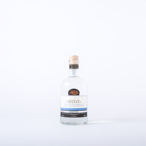 White grappa from Cabernet