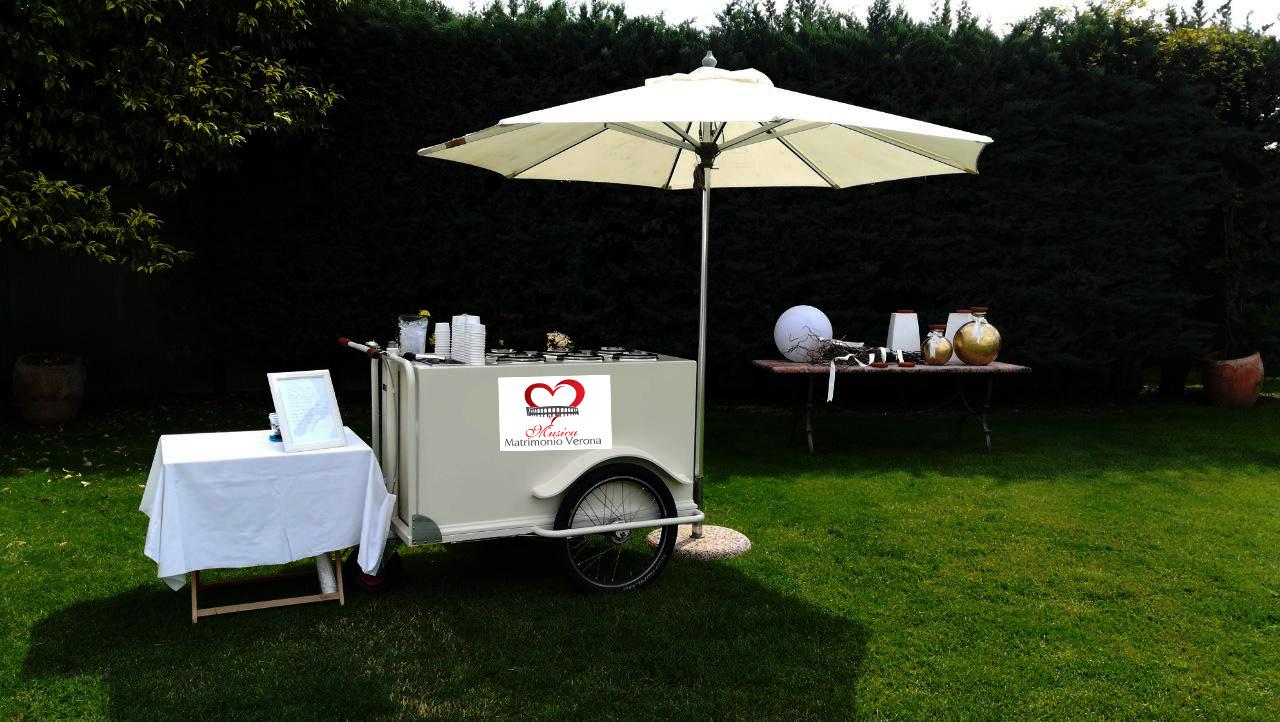 Servizio gelati per eventi