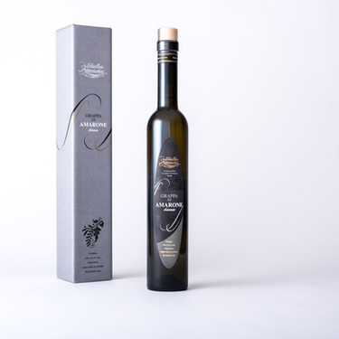 White grappa of Amarone
