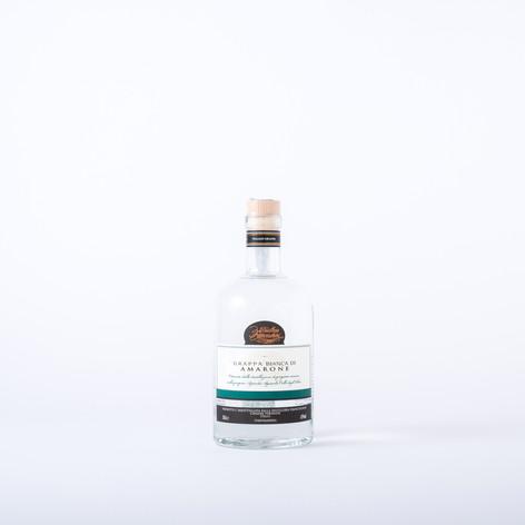 White grappa of Amarone