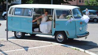 Noleggio Volkswagen T2 wedding